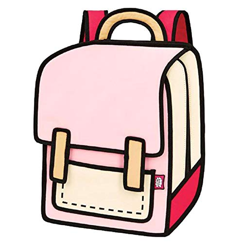 JUMP FROM PAPER Spaceman Backpack - Coo Coo Pink 13 inch