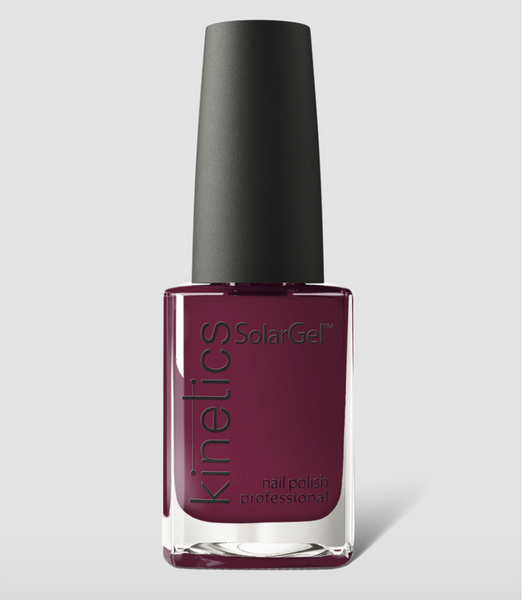 Kinetics SolarGel Professional Nail Polish 224 Signature Wine 15ml - emarkiz-com.myshopify.com