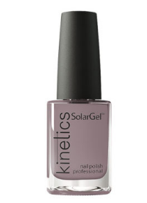 Kinetics SolarGel Professional Nail Polish 406 Dark Grey 15ml - emarkiz-com.myshopify.com