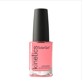 Kinetics SolarGel Professional Nail Polish 424 Color Not Found Pink 15ml - emarkiz-com.myshopify.com