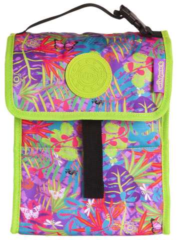 Okiedog Wildpack Jungle Fever Foldable Lunch / Cooler Orchid Bag