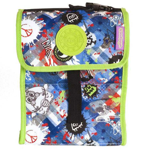 Okiedog Wildpack Graffiti Foldable Lunch Bag Safari - emarkiz-com.myshopify.com