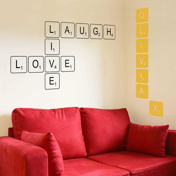 Laugh Live Love Wall Decal - emarkiz-com.myshopify.com