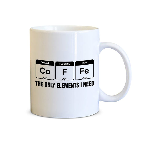 Funny Quote Coffee Mug White/Black - 11 oz