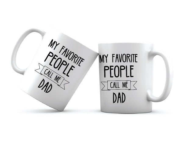 Funny Dad Quote Printed Coffee Mug White/Black - 11 oz