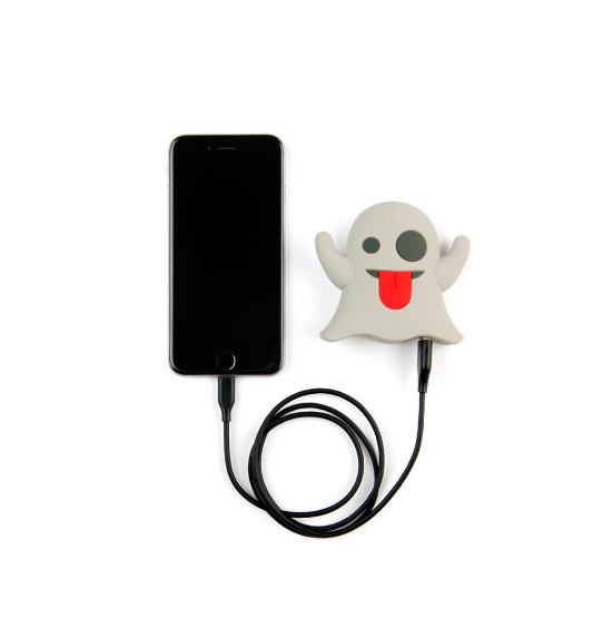 Mojipower External Battery Portable Charger 2600mAh Power Bank Ghost - emarkiz-com.myshopify.com