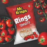Mr Krisps Tomato Flavor Potato Rings 80g Packet