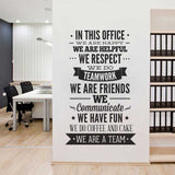 We are Team Wall Decal - emarkiz-com.myshopify.com