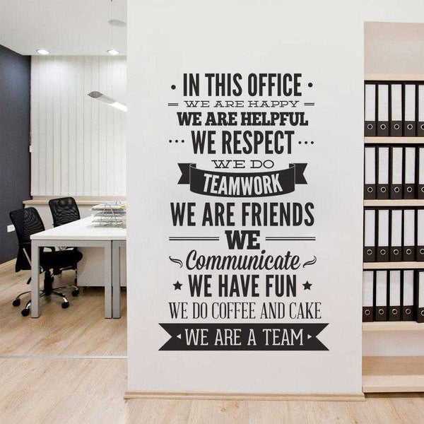 We are Team Wall Decal