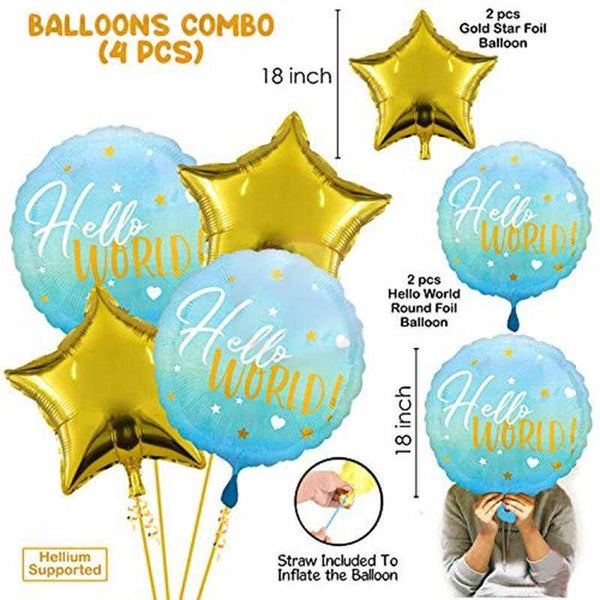 Party Propz Baby Shower Balloons Combo - Set of 10 - emarkiz-com.myshopify.com