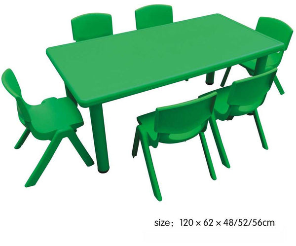 Kids Rectangle Green Table - emarkiz-com.myshopify.com
