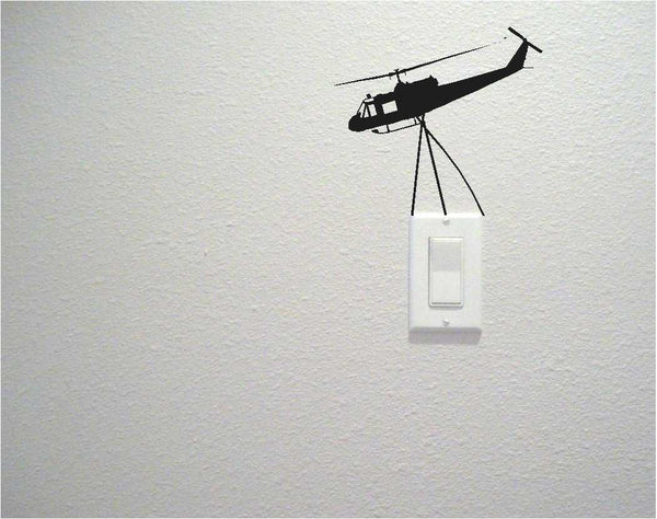 Helicoper Switch Wall Decal Sticker - emarkiz-com.myshopify.com