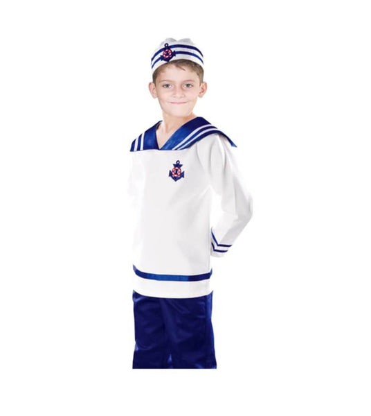 Sailor Uniform Kids Costume
