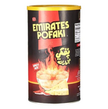 Emirates Pofaki Spicy Cheese Corn Curls 80g Can - emarkiz-com.myshopify.com