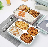 Jade Bento Box, Stainless Steel Lunch Boxes For Kids & Adults - Pink - emarkiz-com.myshopify.com