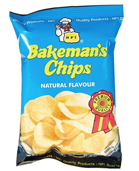 Bakeman's Potato Chips Natural 25g packets in a Bag - emarkiz-com.myshopify.com