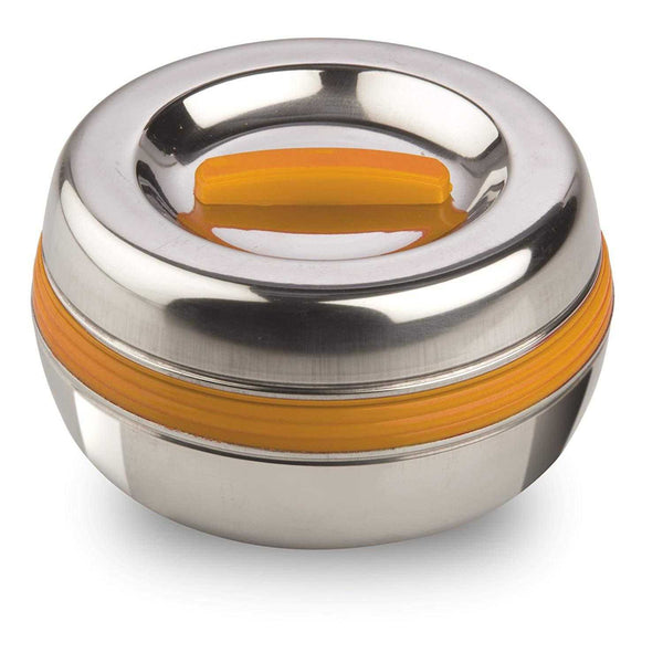 Asian Chromwell Stainless Steel Lunch Box Orange - emarkiz-com.myshopify.com