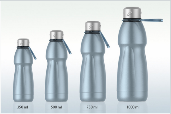 Stainless Steel Gold Vacuum Bottle
