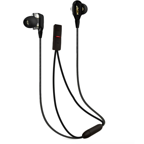 Wicked Audio WCKD1 Dual Driver Earbuds Black Bluetooth Earphones