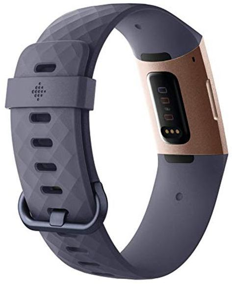 Fitbit Charge 3 Rose Gold/Blue Grey Fitness Tracker