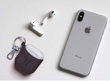 PODPOCKET Silicone Case for Apple AirPods - Cocoa Grey - emarkiz-com.myshopify.com
