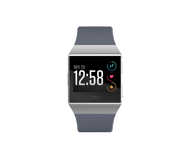 Fitbit Ionic Blue-Gray & White Smart Watch