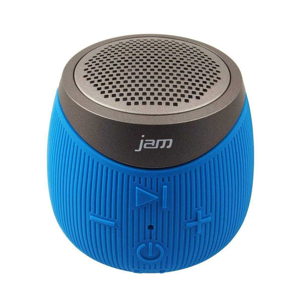 JAM AUDIO Double Down Portable Bluetooth Wireless Speaker Blue - emarkiz-com.myshopify.com