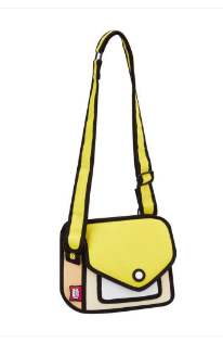 JUMP FROM PAPER Junior Giggle Shoulder Bag - Minion Yellow 7 inch - emarkiz-com.myshopify.com