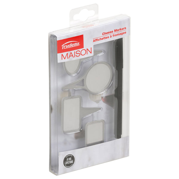 Trudeau Maison 5Pc Cheese Marker Set 6/Cdu