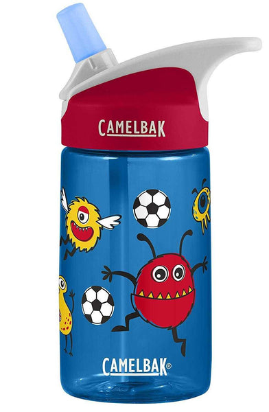CamelBak Eddy Kids .4L Soccer Monsters Water Bottle