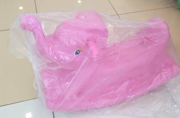 Pink Rocking Elephant for Toddlers