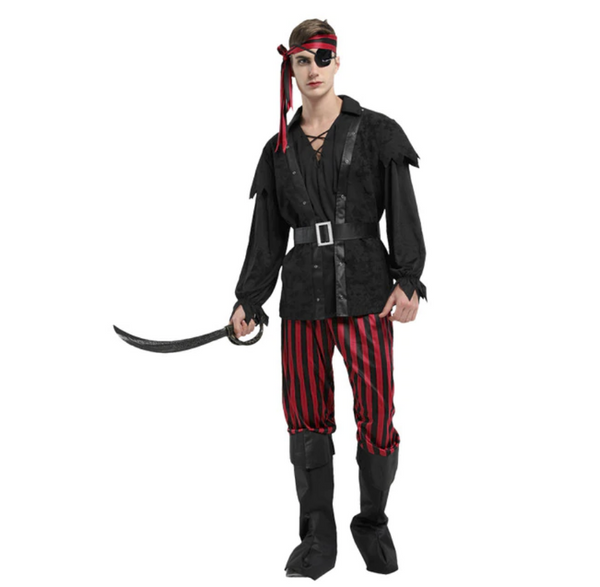 Pirate Adult Man Black Costume - emarkiz-com.myshopify.com