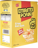 Emirates Pofaki Cheese Corn Curls 15g - 25 Packets in a Box