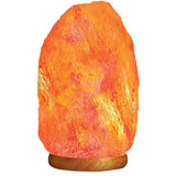 Himalayan Rock Salt Lamp 25 kg - 16 inches with Wooden Base - emarkiz-com.myshopify.com