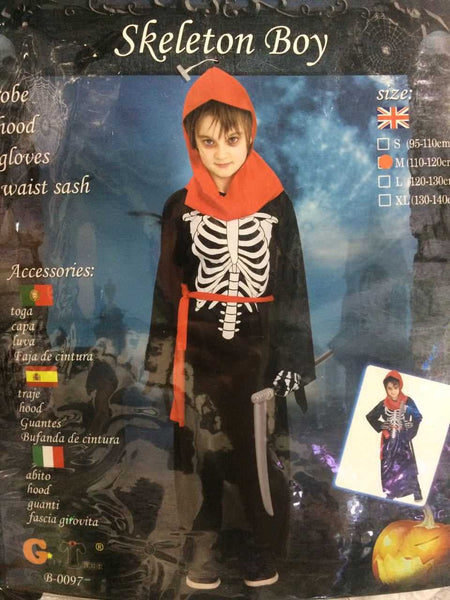 Halloween Skeleton Costume with Hood - emarkiz-com.myshopify.com