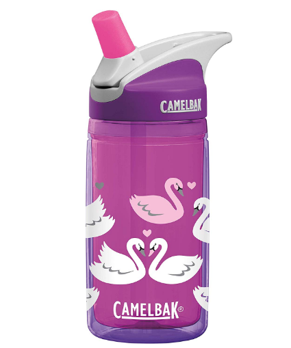 CamelBak Eddy Kids Insulated .4L Purple Swans Water Bottle - emarkiz-com.myshopify.com