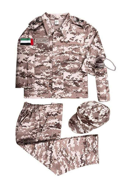 UAE Military Uniform Girls Costume with Pants - emarkiz-com.myshopify.com
