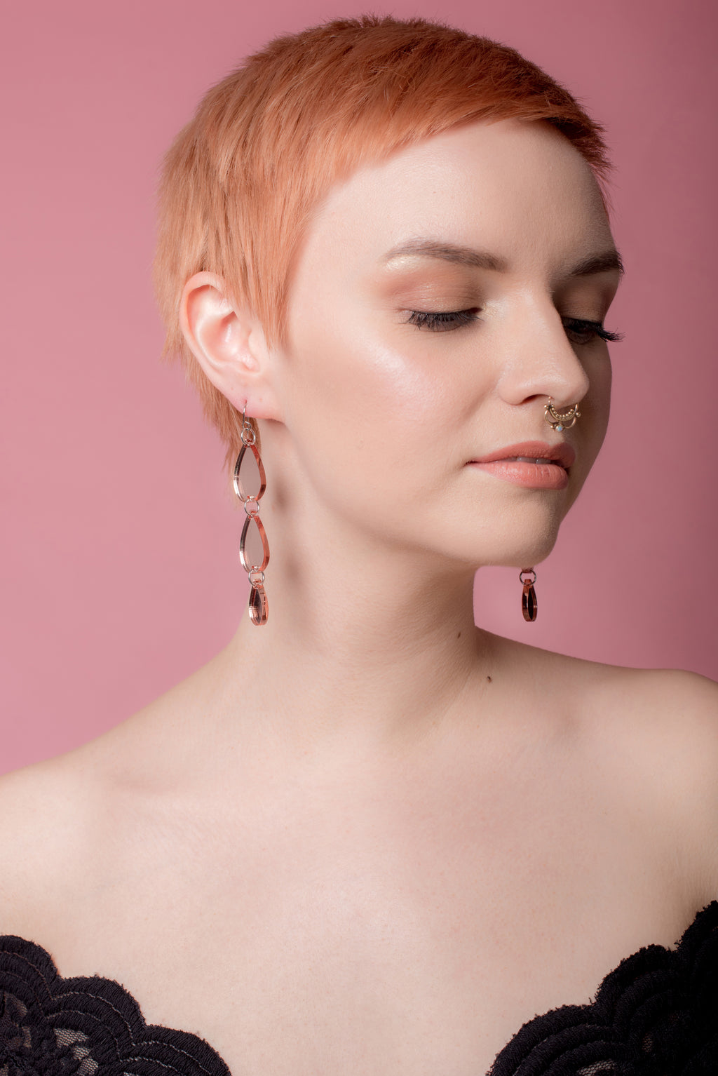 Rose Gold Triple Tears, Mirror