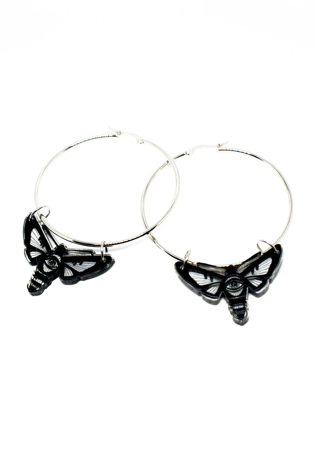 Hawkmoth Statement Hoop, Earrings