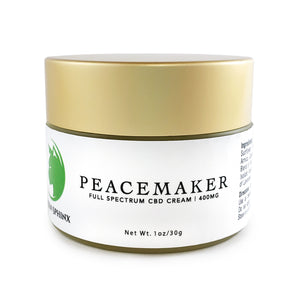 Peacemaker CBD Cream (1 oz) | 400mg CBD