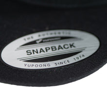 Load image into Gallery viewer, Sunda Logo Snapback Hat - Black