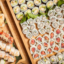 Load image into Gallery viewer, In-Home Chef Experience / Learn the art of sushi rolling & indulge in a fully prepared dinner by one of our Chefs for you and your friends!