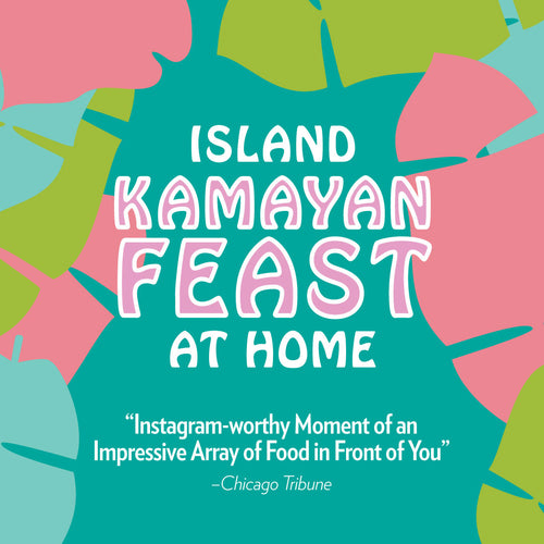 GIFT CARD: Kamayan Feast for TWO person (choose your location)