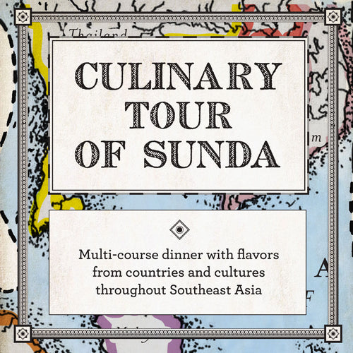 GIFT CARD: Tour of Sunda New Asian for FOUR person (choose your location)