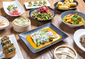 Vegan Feast / Sunda offers vegan dishes that are delicious, flavorful and shareable.