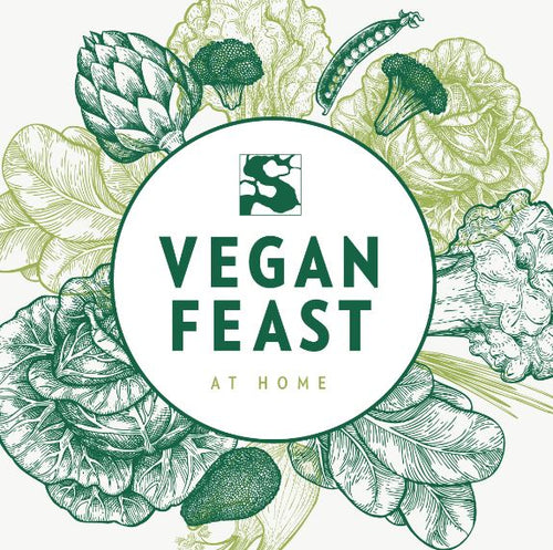GIFT CARD: Vegan Feast for TWO person (choose your location)