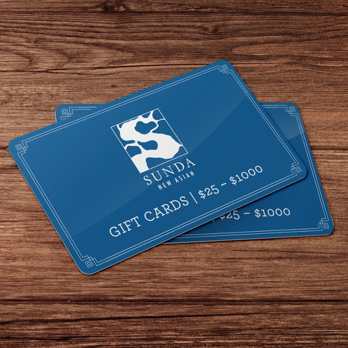 Sunda New Asian Gift Cards