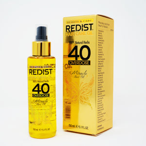 Redist Hair Care Oil 40 Overdose Professioanl Effective Hair Treatment