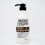 redist natural milk & run honey shampoo