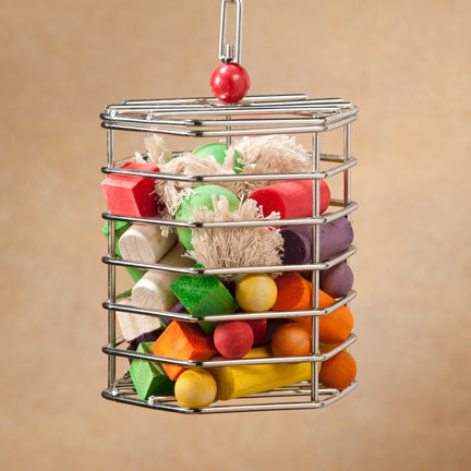 Stainless Steel Foraging Cage - Small